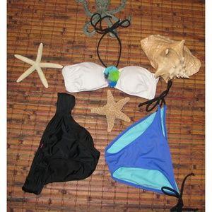 Victoria Secret 2pc swim suit Bonus bottoms EUC
